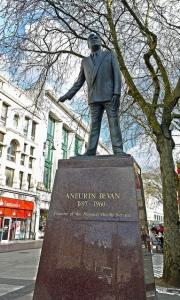 Statue of Nye Bevan
